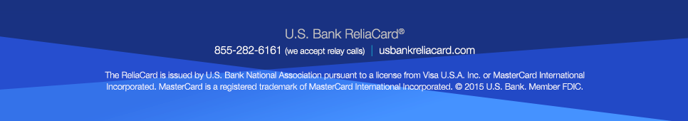 us bank reliacard child support
